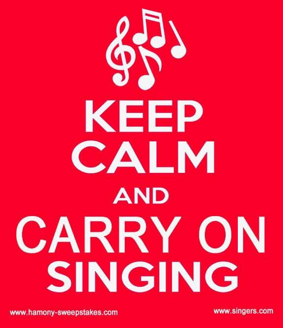 Keep Calm Sing